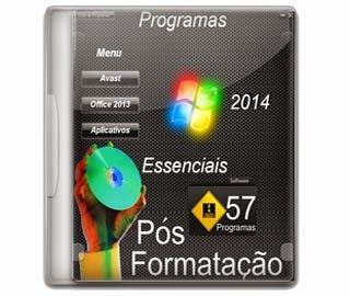 Programas Essências 2015 pos formatação