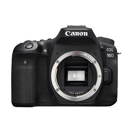 Camera Canon Eos 90D Corpo Preta