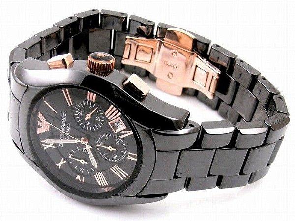 Relógio Masculino Emporio Armani AR1410 Preto