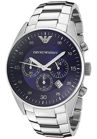 f9f3fc9be16 Relógio Masculino Emporio Armani AR5860 Prata - Mimports - Produtos ...