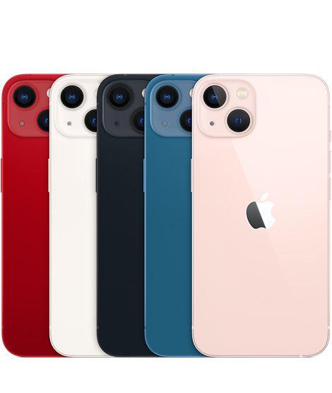 "iPhone 13 Mini Dual Sim 5G 2021 Tela 5.4 Polegadas"""