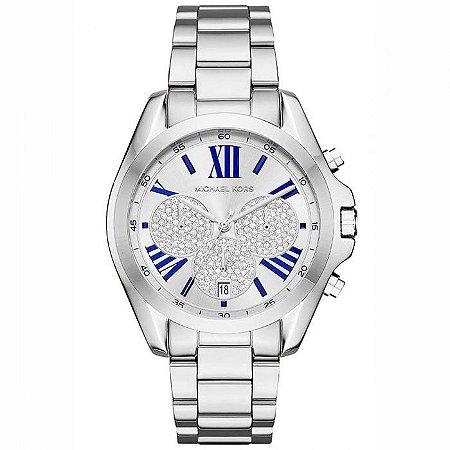 Relógio Feminino Michael Kors MK6320 Prata Cravejado