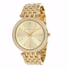 Relógio Feminino Michael Kors MK3191 Dourado Cravejado
