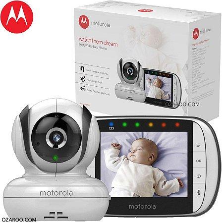 "Babá Eletrônica Motorola MBP36SC Tela 3.5"" Visao Noturna"