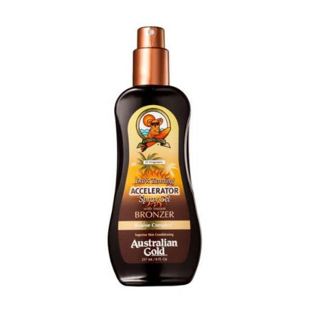 Australian Gold Dark Tanning Accelerator Spray With Instant Bronzer - Spray Bronzeador 237ML