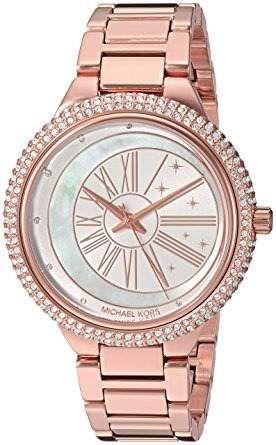 Relógio Feminino Michael Kors MK6551 Ladies Rose Cravejado