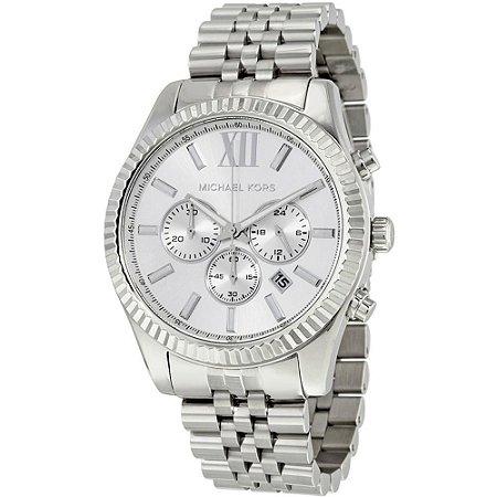 Relógio Feminino Michael Kors MK8405 Lexington Prata
