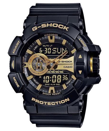 Relógio Unissex Casio G-Shock GA-400GB-1A9 Preto