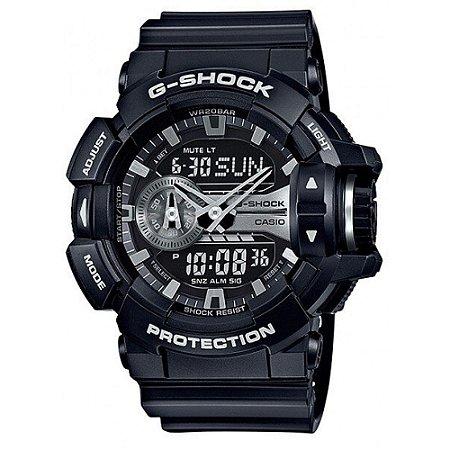 Relógio Unissex Casio G-Shock GA-400GB-1A Preto