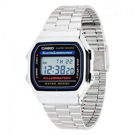 Relógio Unissex Casio Unissex A168WA-1WDF Prata