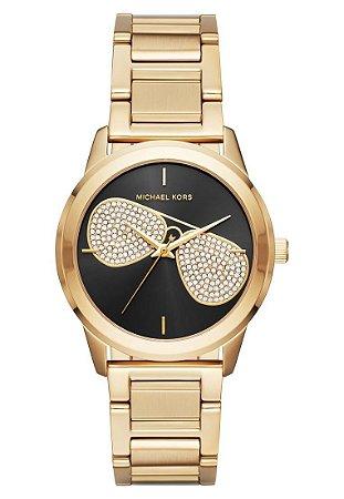 Relógio Feminino Michael Kors Mk3647 Dourado
