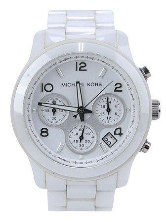 Relógio Feminino Michael Kors MK5161 Branco Cerâmica