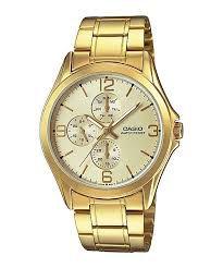 Relógio Unissex Casio Modelo MTP-V301G-9AUDF Dourado