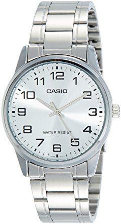 Relógio Unissex Casio Modelo MTP-V001D-7BUDF Prata