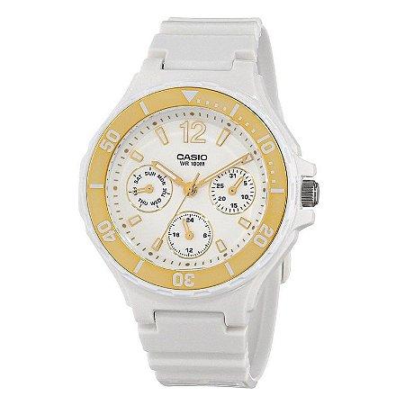 Relógio Unissex Casio Modelo LRW-250H-9A1VDF Branco