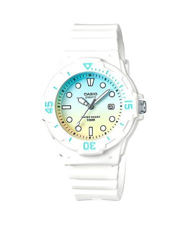 Relógio Masculino Casio Modelo LRW-200H-2E2VDR Branco