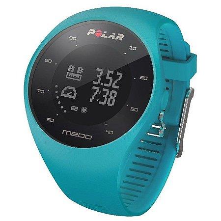 Relógio Masculino Polar M200 Gps Azul