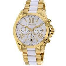 Relógio Feminino Michael Kors Mk5743 Dourado Branco