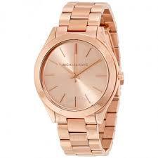 Relógio Feminino Michael Kors Mk3197 Ouro Rose