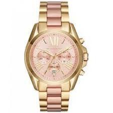Relógio Feminino Michael Kors MK6359 Dourado Fundo Rose
