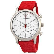 Relógio Unissex Armani Exchange AR11021 Vermelho