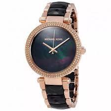 Relógio Feminino Michael Kors MK6414 Preto & Rose