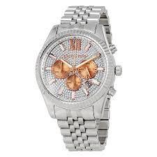 Relógio Feminino Michael Kors MK8515 Prata Cravejado