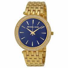 Relógio Feminino Michael Kors MK3406 Dourado Cravejado