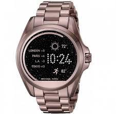 1ff67f5405deb Relógio Feminino Michael Kors MKT5007 Smartwatch Access Bradshaw Rosa