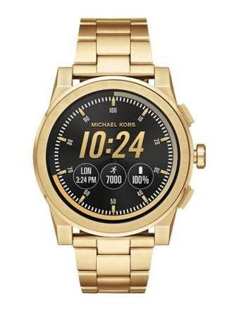 Relógio Feminino Michael Kors MKT5026 Access Touch Screen Gold
