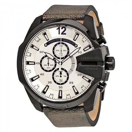 Relógio Masculino Diesel DZ4422 Couro marrom Fundo Branco
