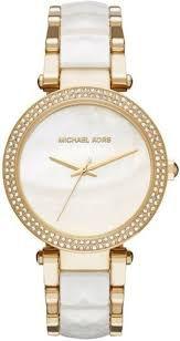 Relógio Feminino Michael Kors MK6400 Dourado arker Madrepérola