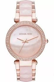 Relógio Feminino Michael Kors MK6402 Rose Parker Madrepérola