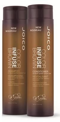 Kit Joico Shampoo e Condicionador Duo Color Infuse Brown 300ml