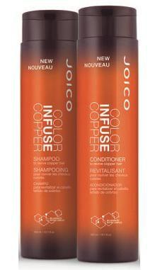Kit Joico Shampoo e Condicionador Duo Color Infuse Copper 300ml