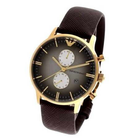 ac1170355b Relógio Masculino Emporio Armani AR1755 Couro - Mimports - Produtos ...