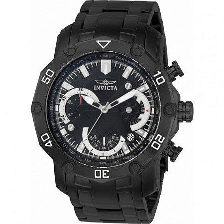 Relógio Masculino Invicta Pro Diver 22763 Pulseira Preta
