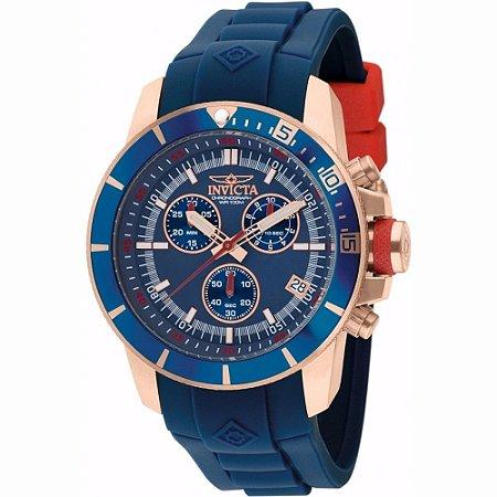 Relógio Masculino Invicta Pro Diver 11749 Ouro Rosê