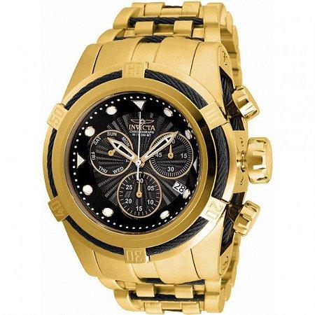 Relógio Masculino Invicta Bolt 23912 Ouro 18K