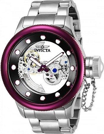Relógio Feminino Invicta Russian Diver 26272 Prata