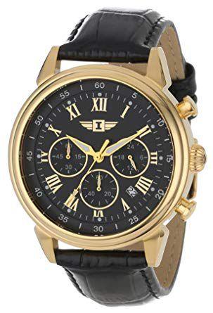 Relógio Masculino Invicta  90242 Banhado Ouro 18k
