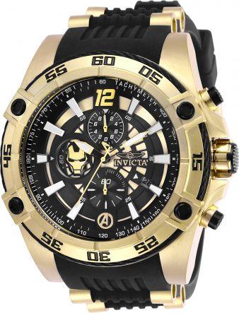 Relógio Masculino Invicta Marvel 26797  Silicone E Aço Inoxidável