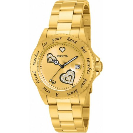 Relógio Feminino Invicta Angel 14733 Dourado