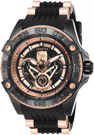 Relógio Masculino Invicta Marvel 27031 Pulseira De silicone