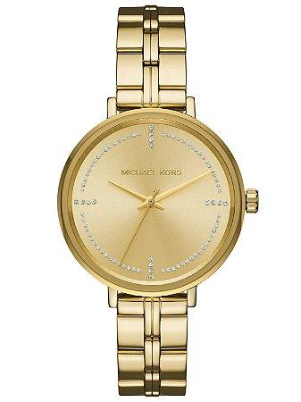 Relógio Feminino Michael Kors Mk3792 Dourado