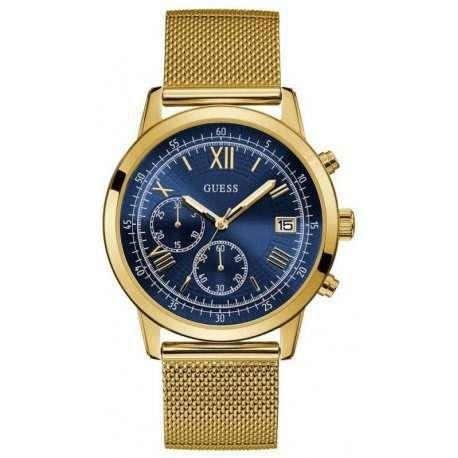 Relógio Masculino Guess Summit W1112g2 Dourado