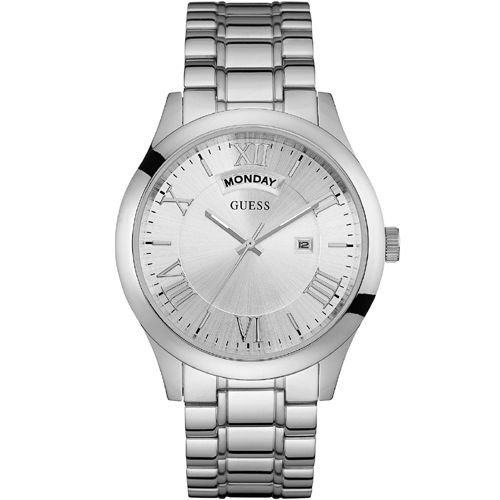 Relógio Masculino Guess W0791G1 Prata