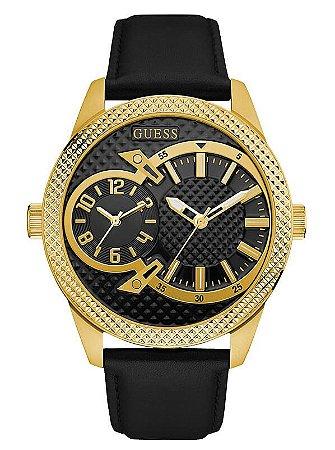 Relógio Masculino Guess Co-Pillot W0788G3 Couro