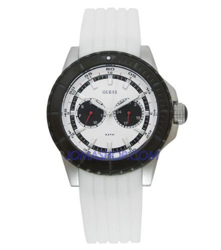 Relógio Masculino Guess W13072G1 Pulseira de silicone