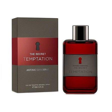 Perfume Masculino Antonio Banderas The Secret Temptation Eau de Toilette